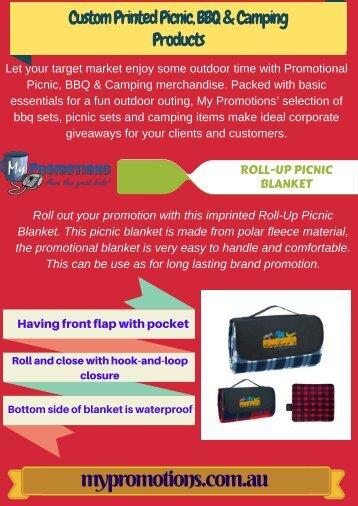 Custom Printed Picnic, BBQ & Camping Products