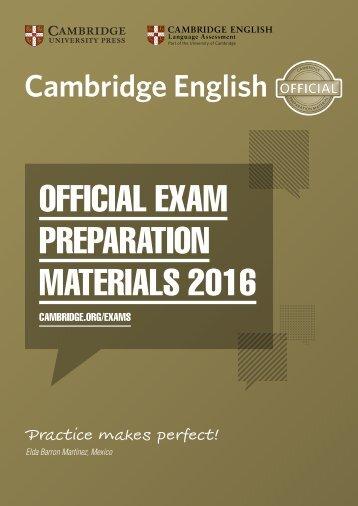 Exam Preparation Material 2016