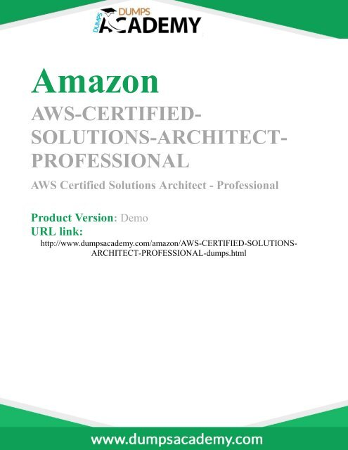 Pass AWS-Certified-Solutions-Architect-Professional Exam For