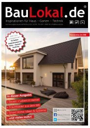 BauLokal.de Sauerland MK/Nord-Ost Sommerausgabe 3/2016