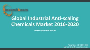 Global Industrial Anti-scaling Chemicals Market 2016-2020
