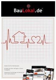 BauLokal.de PLUS Broschüre B2B