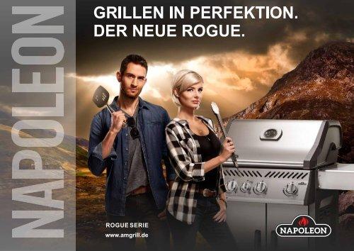 Outdoorküche Mit Gasgrill Cover : Der neue gasgrill von napoleon: rogue