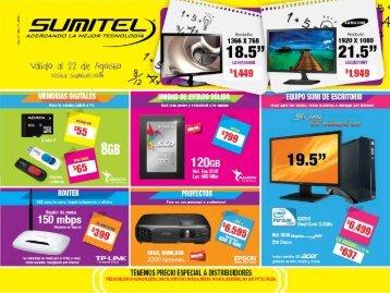 Catálogo de Tecnología SUMITEL 22AGO