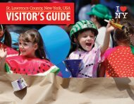 St. Lawrence County Visitors Guide