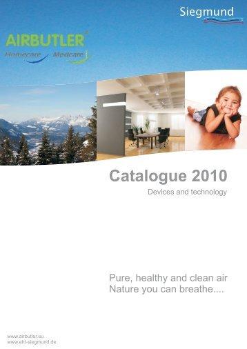 Catalogue 2010 - eht Siegmund GmbH