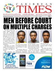 Caribbean Times 68th Issue - Wednesday 10th August 2016