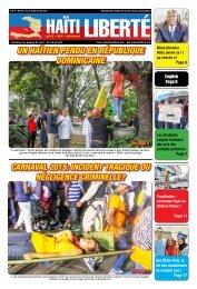 Haiti Liberte 18 Fevrier 2015