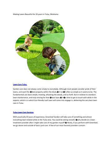 Making Lawns Beautiful for 20 years in Tulsa6