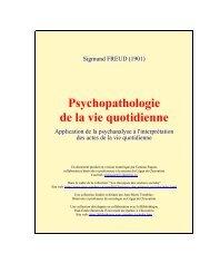 Sigmund Freud..Psychopahtologie