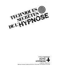 Techniques Secrètes de l'Hypnose _ volume 4