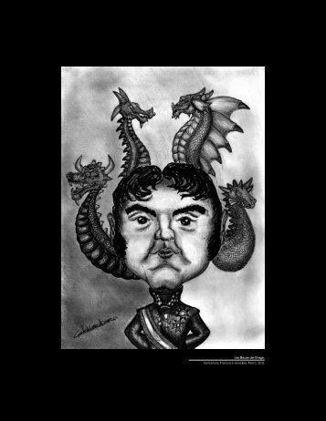 Las Bocas del Drago, Caricatura, Francisco González Acero, 2011