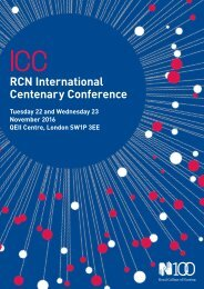 RCN International Centenary Conference