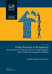From Poverty to Prosperity