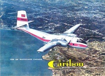 Caribou Sales Brochure - 1962