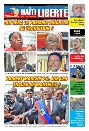 Haiti Liberte 4 Fevrier  2016
