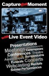 Live Multi Camera Video Capture Service