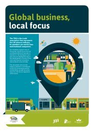 Global business local focus