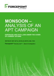 MONSOON – ANALYSIS OF AN APT CAMPAIGN