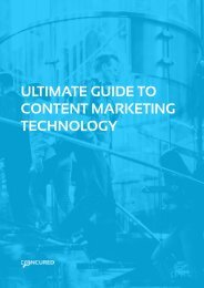 Ultimate Guide to Content Marketing Technology