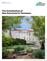 The Contributions of New Americans in Tennessee