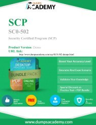 Practice SC0-502 Exam Questions are Out - Download and Prepare