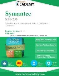 Practice ST0-236 Exam Preparation Material