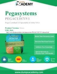 Practice PEGACUIS71V1 Exam Dumps