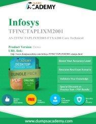 Practice TFINCTAPLIXM2001 Exam to Success in career
