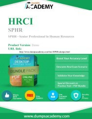 Practice SPHR Exam Questions & Answers 2016 Updated