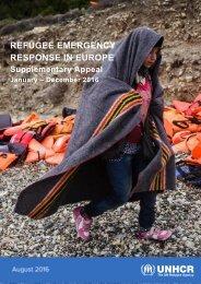 REFUGEE EMERGENCY RESPONSE IN EUROPE