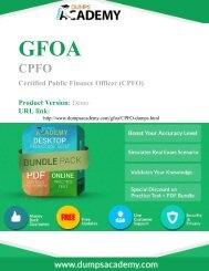 Up-to-Date CPFO Exam Preparation Material