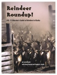 Reindeer Roundup - University of Alaska Fairbanks