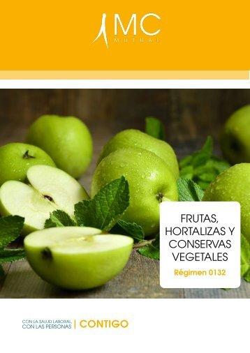FRUTAS HORTALIZAS Y CONSERVAS VEGETALES