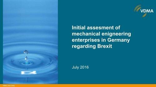 enterprises in Germany regarding Brexit
