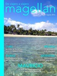 Revista de viajes Magellan - Agosto 2016