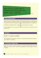 Post Graduate Programme - Page 6