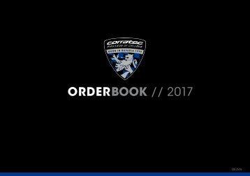 corratec Orderbook 2017