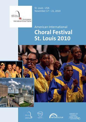 St.Louis 2010 - Program Book
