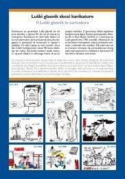 Il Luški glasnik in caricatura - Kamra