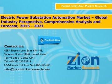 Electric Power Substation Automation Market
