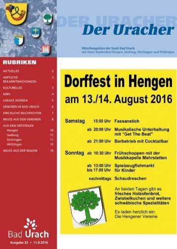 Der Uracher KW 32-2016
