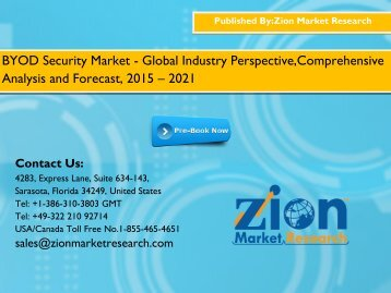 BYOD Security Market