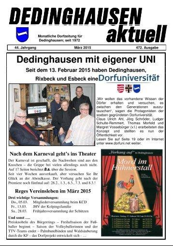 Dedinghausen aktuell 472