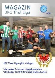 UPC Tirol Liga startet mit Vollgas in die neue Saison