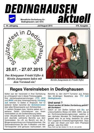 Dedinghausen aktuell 476