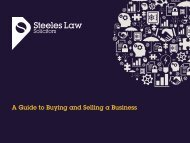 A Guide to Buying and Selling a Business