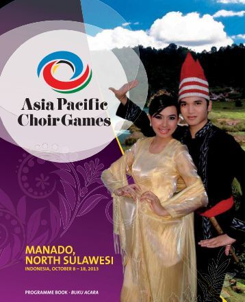 Asia Pacific Choir Games Manado 2013 - Program Book