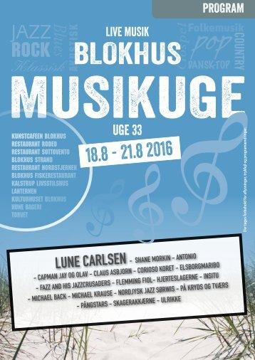 Blokhus Musikuge 2016 Program