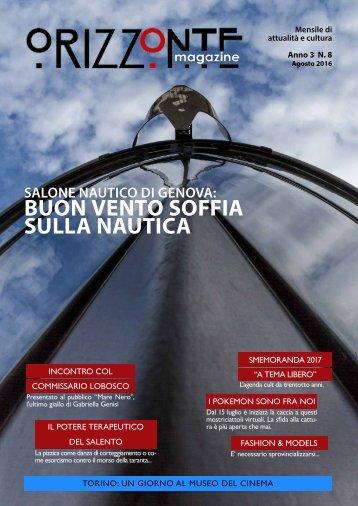 OrizzonteMagazine n°8 Agosto2016